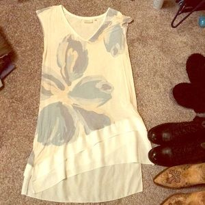 Exploding Floral Tunic